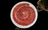 assiette de jambon ibérique pata negra